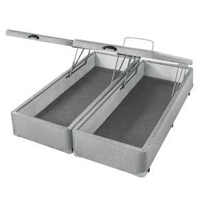 Cama-Box-com-Bau-Americanflex-Cinza-Serrana-King-193-x-203-x-40-cm