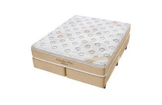 Cama-Box-Queen-com-Colchao-de-Espuma-D33-Americanflex-Clinoflex-Plus-158-x-198-x-64-cm