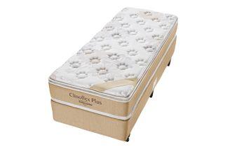 Cama-Box-para-Solteiro-com-Colchao-de-Espuma-D45-Americanflex-Clinoflex-Plus-88-x-188-x-64-cm
