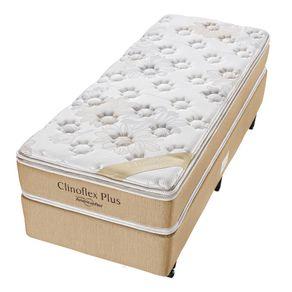 Cama-Box-para-Solteiro-com-Colchao-de-Espuma-D45-Americanflex-Clinoflex-Plus-100-x-200-x-64-cm