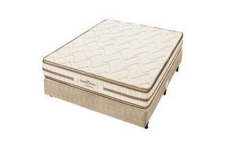 Cama-Box-para-Casal-com-Colchao-de-Espuma-D33-Americanflex-Clinoflex-Bambu-128-x-188-x-65-cm