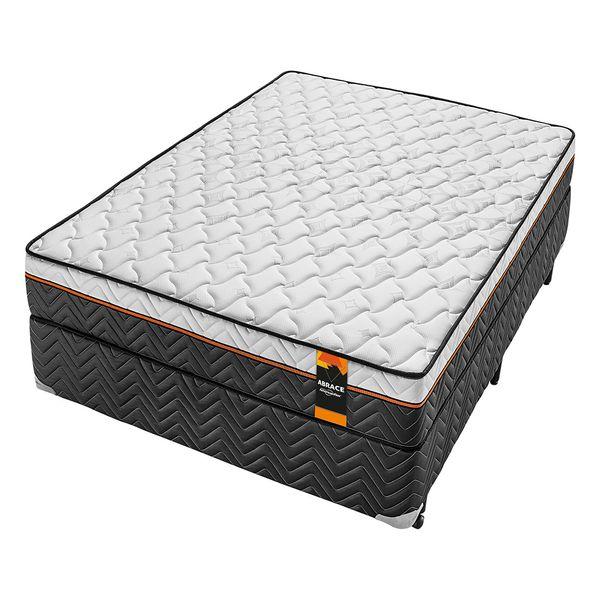 Cama-Box-Tamanho-Casal-com-Colchao-de-Molas-Tripower-Americanflex-Abrace-138-x-188-x-69-cm
