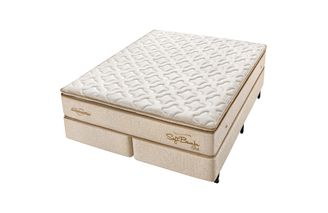Cama-Box-para-Casal-Tamanho-Queen-com-Colchao-de-Molas-Americanflex-Soft-Bambu-Gel-One-Face-158-x-198-x-66-cm