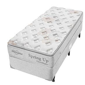 Cama-Box-para-Solteiro-com-Colchao-de-Molas-Americanflex-Spring-Up-Visco-100-x-200-X-67-cm