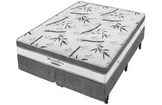 Cama-Box--Box---Colchao-de-Molas--Minaspuma-King-Minasflex-MC-Resistence-193-X-203-X-64-cm