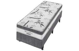 Cama-Box--Box---Colchao-de-Molas--Minaspuma-Solteiro-Minasflex-MC-Ensacado-108-X-198-X-66-cm