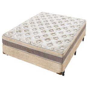 Cama-Box--Box---Colchao-de-Molas--Minaspuma-Casal-Minasflex-Plus-Ensacado-138-X-188-X-67-cm