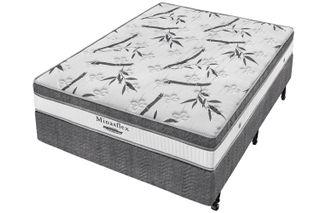 Cama-Box--Box---Colchao-de-Molas--Minaspuma-Casal-Minasflex-MC-Resistence-138-X-188-X-64-cm