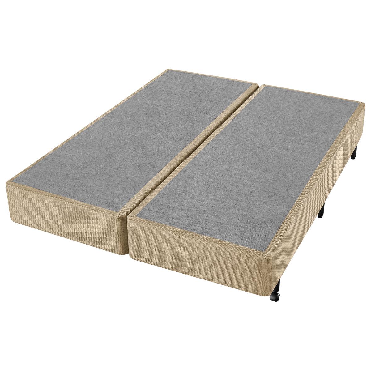 Conjunto Box Super King Espuma D45 Americanflex AX Olive 193x203x68cm