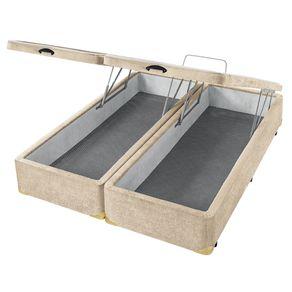box-bau-areia-boucle-queen-king-vista-superior-lateral-aberta