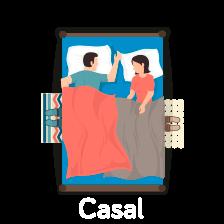 Conjuntos > Casal