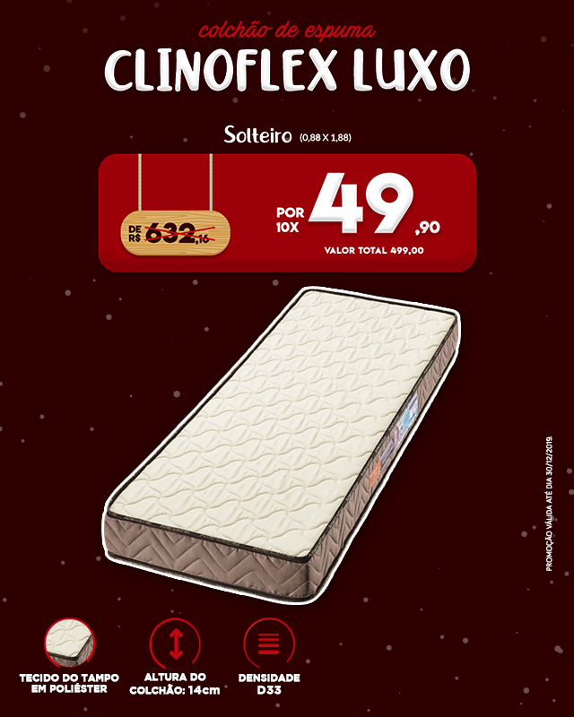 Clinoflex Luxo - Natal