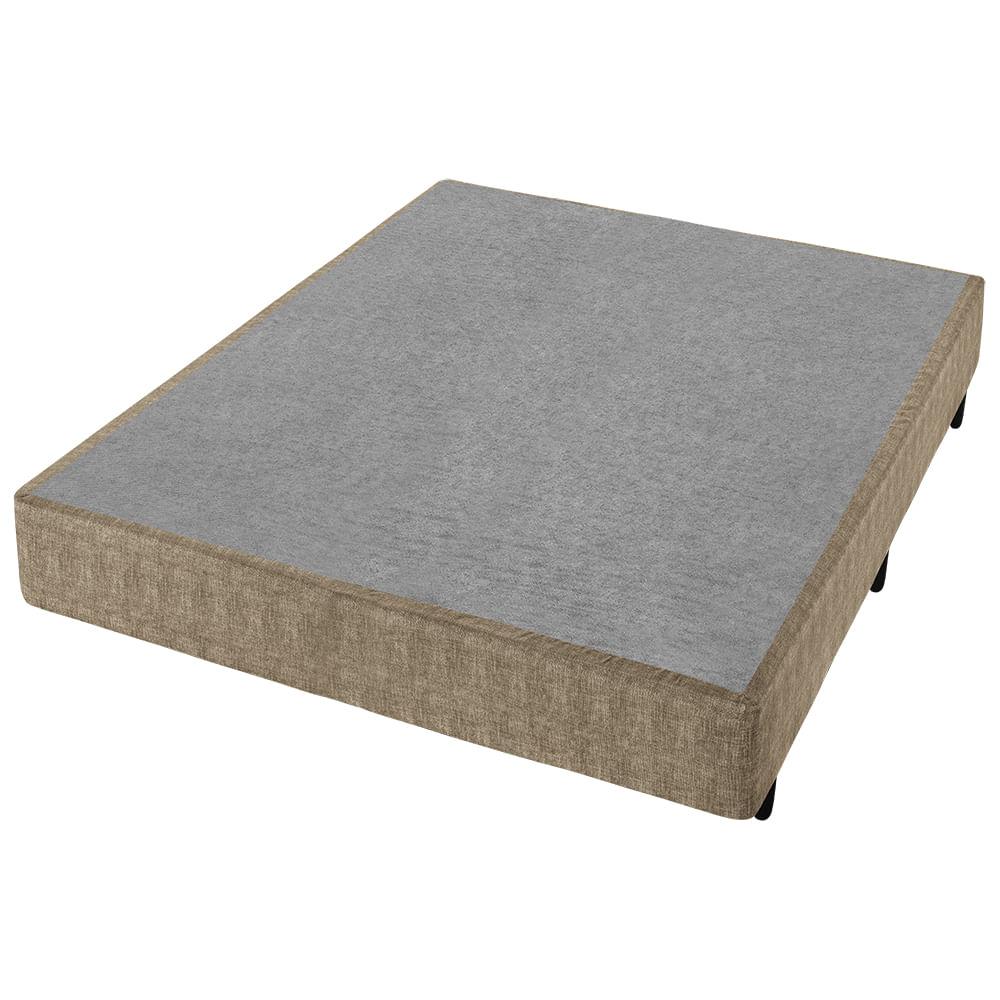 Conjunto Box Casal Molas Minaspuma Naturart 138x188x68cm