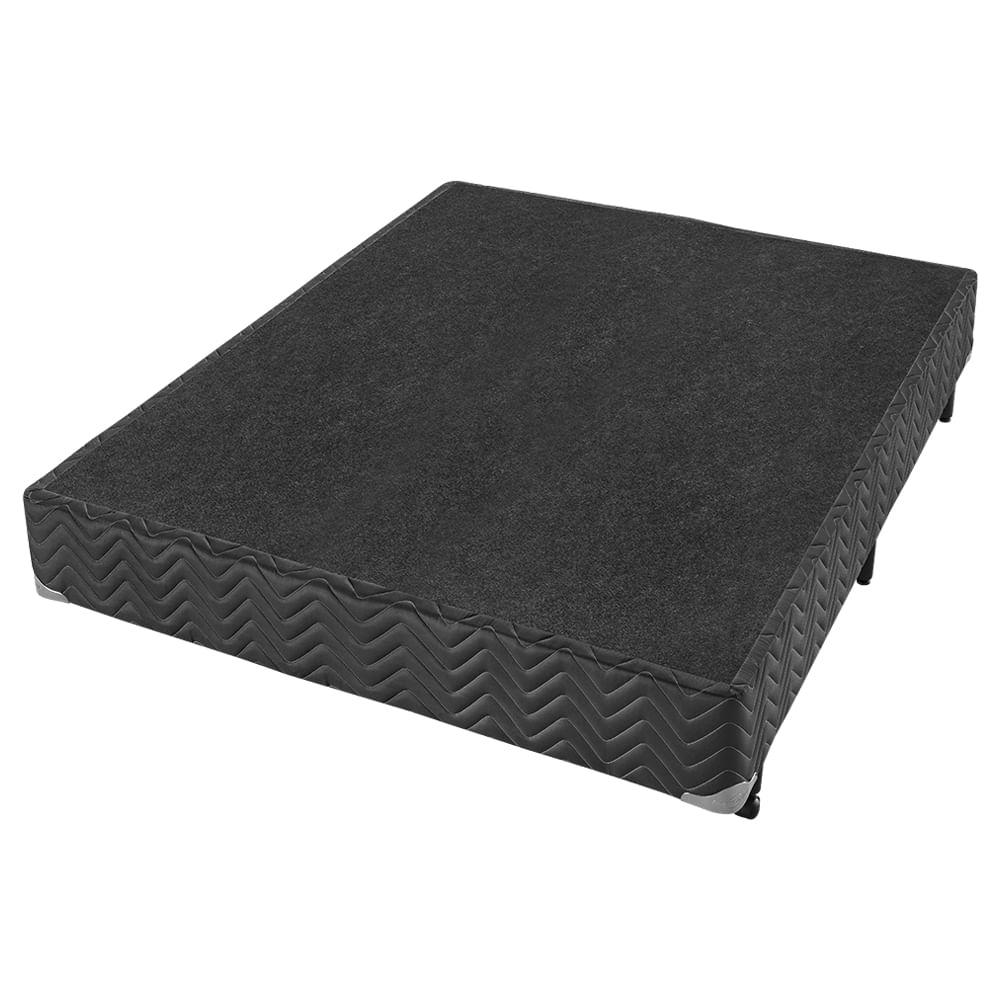 Conjunto Box Casal Molas Ensacadas Americanflex Duo Black Gel III 138x188x65cm