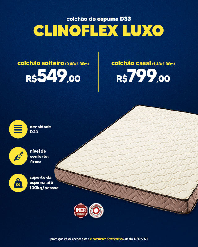 Clinoflex Luxo