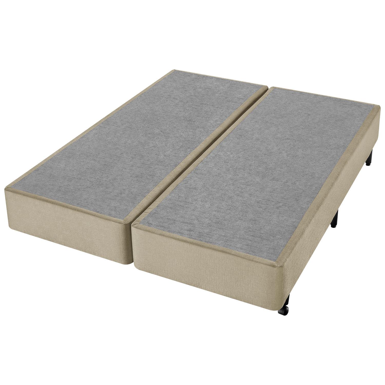 Conjunto Box Super King Molas Ensacadas Americanflex Eucalyptus II 193x203x70cm