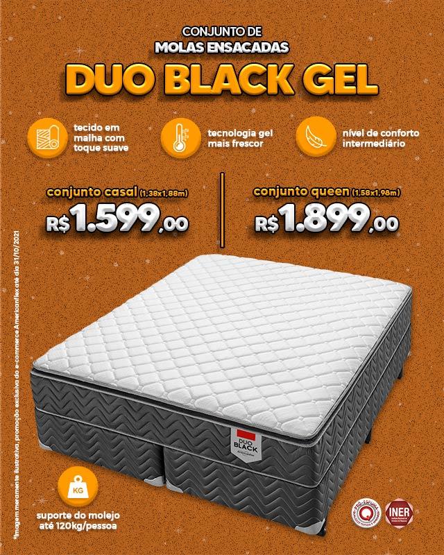 Duo Black Gel